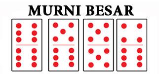 Domino Murni Besar